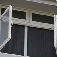 Cửa lưới chống muỗi cố định màu trắng sứ HM031