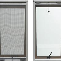 Lưới chống muỗi tự cuốn màu ghi HM004