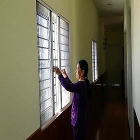 Đừng đóng kín cửa khi đã có cửa lưới ngăn côn trùng Hoàng Minh