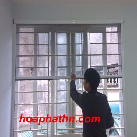 Thi công cửa lưới chống muỗi tại Kim Giang, Hà Nội